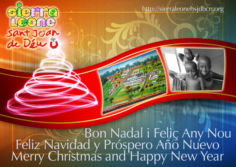 Felicitació de Nadal / Felicitación de Navidad