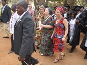 Vestidos africanos para la ceremonia