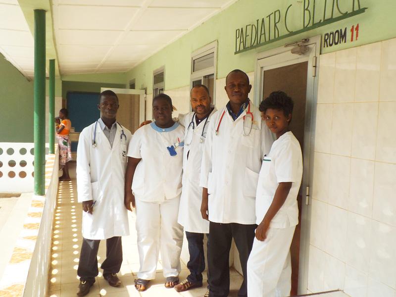 Nuevo equipo de pediatría