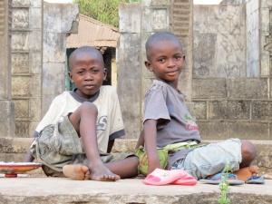 Niños de Sierra Leona