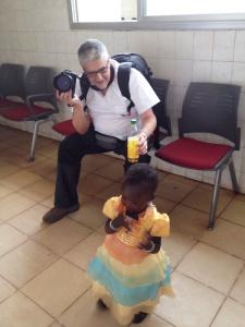 Fotografías en el hospital