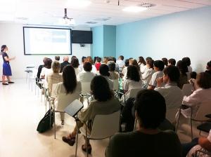 Reunión ébola en Barcelona