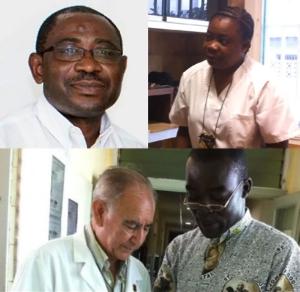 Br. Patrick Nshamde, Sr. Chantal, Br. George Comby, Br. Miguel Pajares