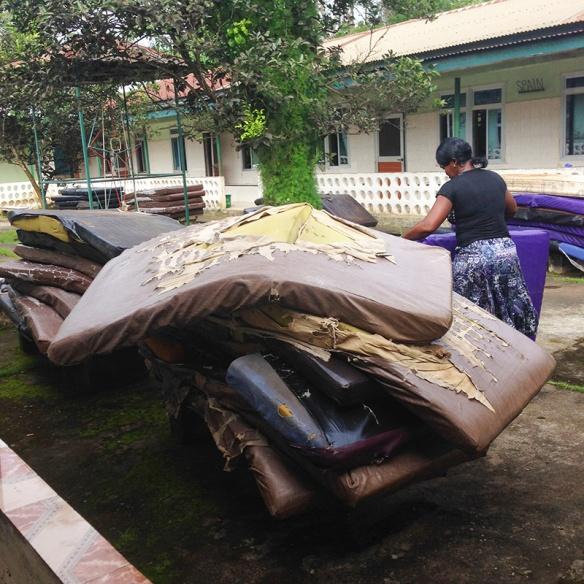 Se inician los trabajos de desinfección del Hospital de Mabesseneh