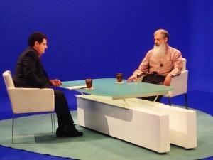 El Hno. Fernando Aguiló en un momento de la entrevista