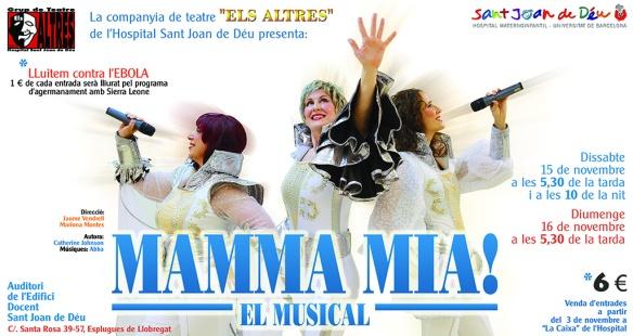 Mamma mia! el musical...