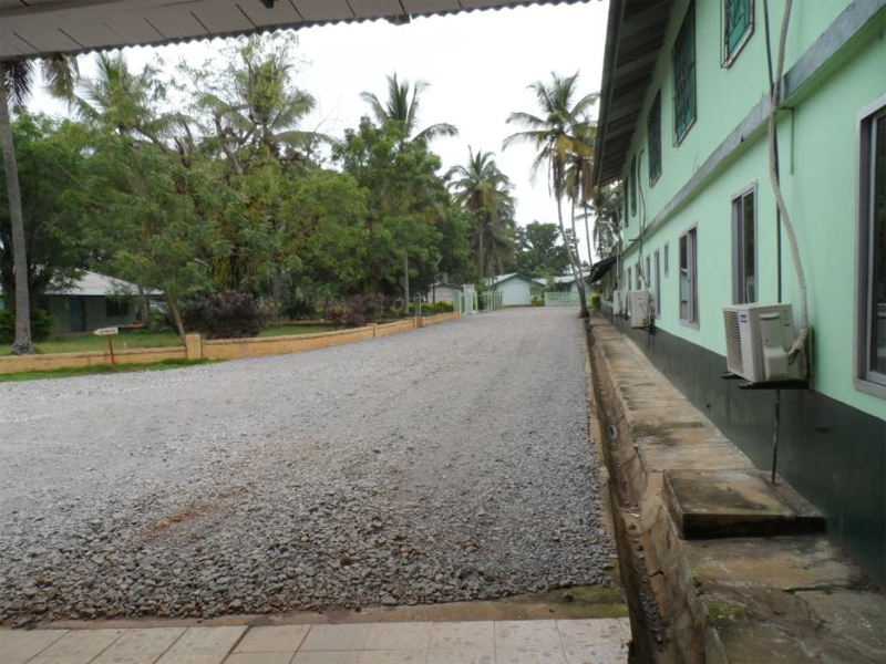 LONGITUDINAL VIEW LEADING TO THE BROTHERS RESIDENCE