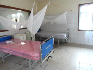 ONE OF THE PAEDIATRIC WARDS READY FOR MANAGING VERY SICK CHILDREN