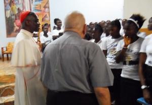 Visita del Cardenal Turkson