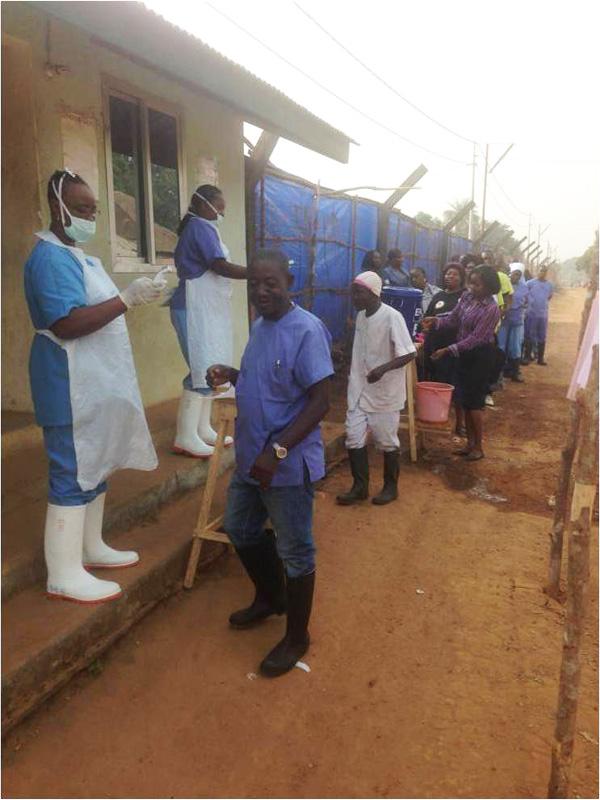 Re-opening of St. John of God Catholic Hospital, Mabesseneh-Lunsar (3/6)