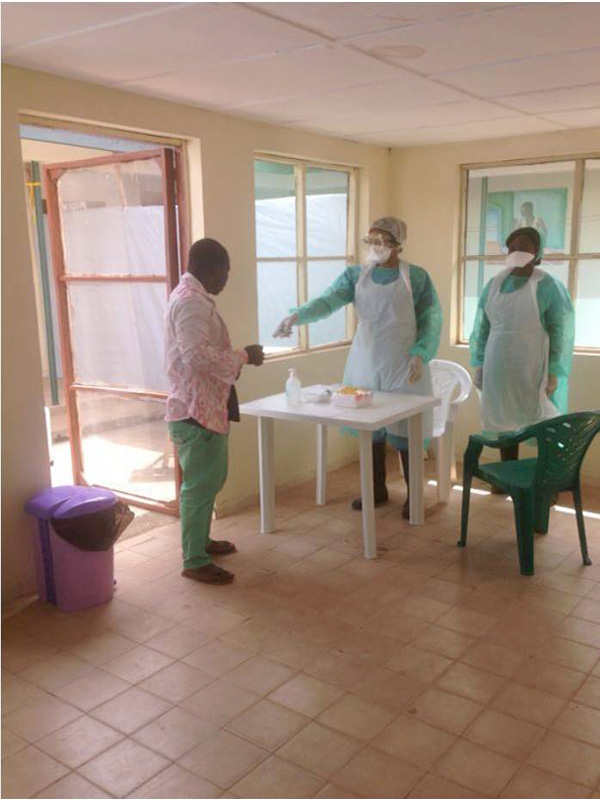 Re-opening of St. John of God Catholic Hospital, Mabesseneh-Lunsar (6/6)