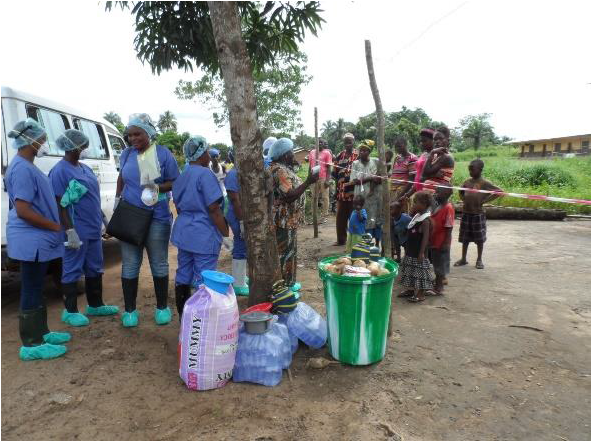 Port Loko District Health Management team