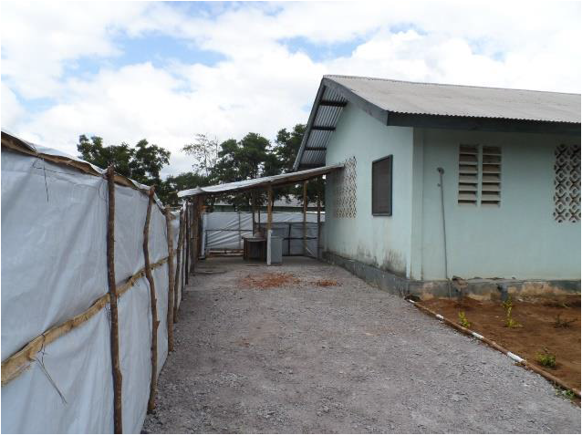 This centre is established by WHO and supported by the Port Loko District Health Management team.