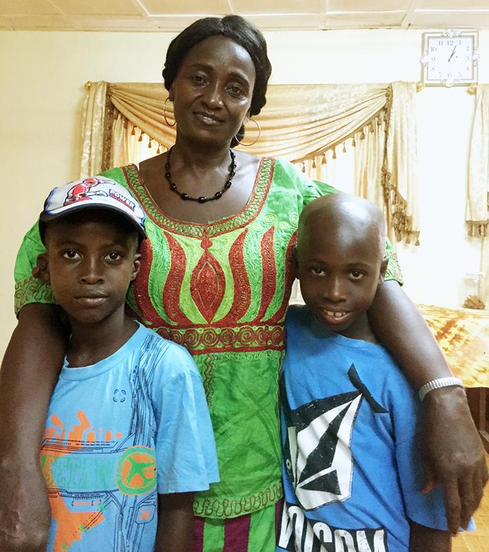 Encuentros emotivos en nuestro viaje a Sierra Leona: niños Cuida'm (2/4)