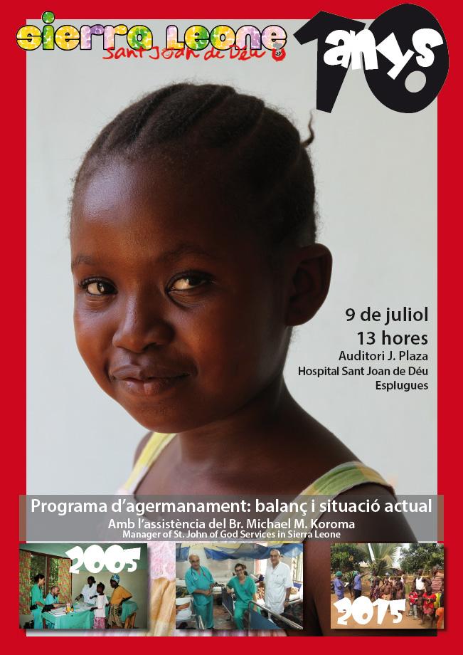 9 de julio: Balance de los 10 años del programa de hermanamiento con Sierra Leone