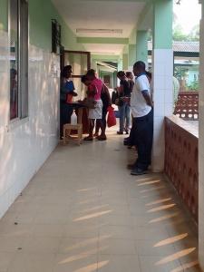 Actividad del hospital de Mabesseneh