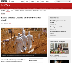 Ultimas noticias sobre la epidemia / BBC News