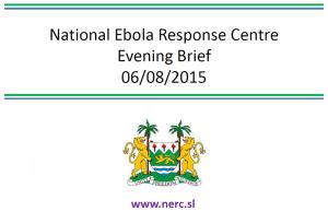 End of Ebola forecast