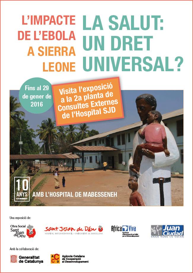 Exposición sobre el impacto del èbola en Sierra Leona