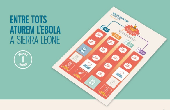 """""""Entre todos frenemos el ébola"""""""