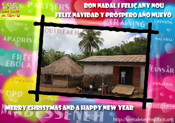 Felicitación de Navidad Hospital Sant Joan de Déu / Programa de hermanamiento con el Hospital de Mabesseneh
