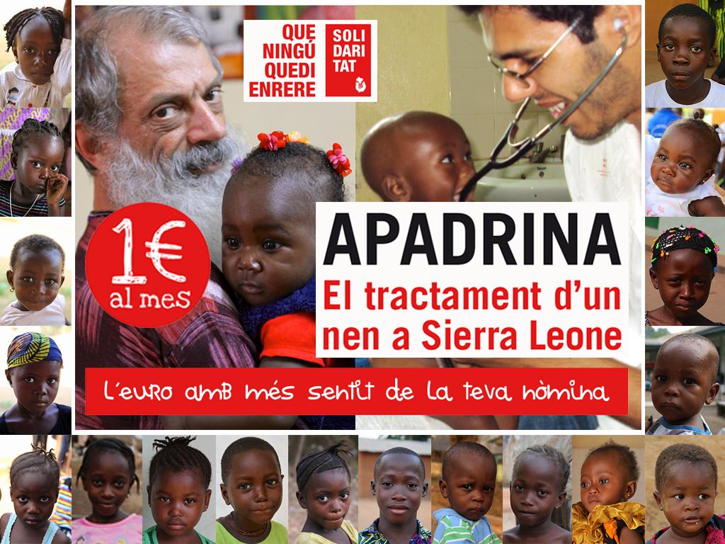 Apadrina el tratamiento de un niño en Sierra Leone