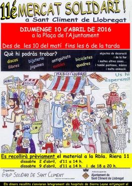 Mercat solidàri de Sant Climent de Llobregat