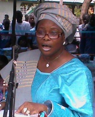 Chief Nursing and Midwifery Officer, Matron Hossinatu Koroma