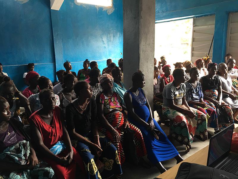 Programa de salud bucodental en embarazadas