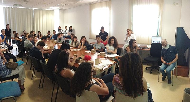 Alumnes de Batxillerat de l'institut Castell del Quer