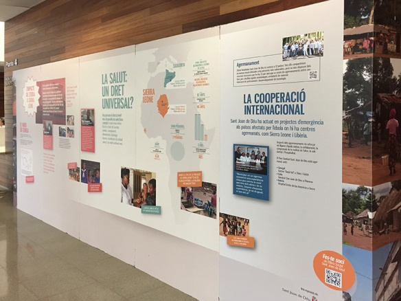 Exposició al Parc Sanitari Sant Joan de Déu