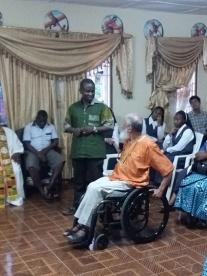 Celebración eucarística de acción de gracias en la capilla de los Hermanos de la Comunidad de Mabesseneh
