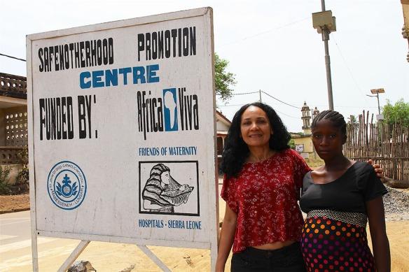Cora Moreira, África Viva, crónica de una primera experiencia en Sierra Leona