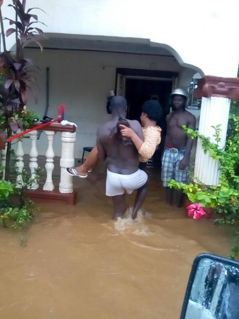 Landslide flood in Sierra Leone