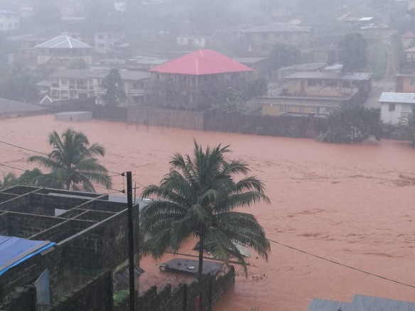 Nueva catástrofe en Sierra Leona