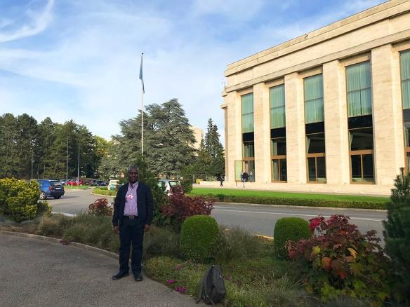 El Hno. Michael fue invitado a participar en el Forum Social del Consejo de Derechos Humanos de  Ginebra