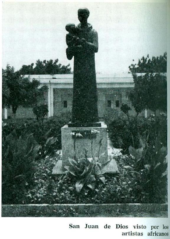 San Juan de Dios visto por los artistas africanos.