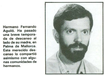 Hermano Fernando Aguiló.