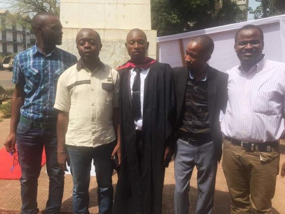 Graduación del Hno. Victor Kargbo