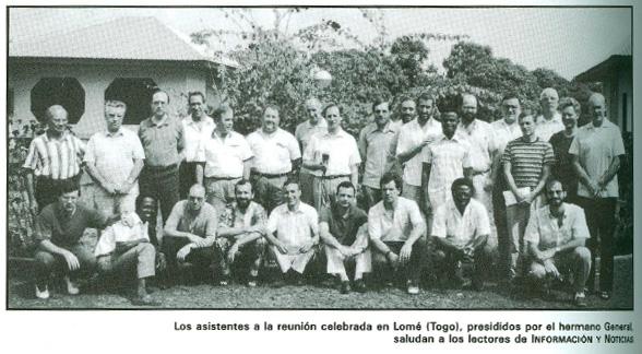 Los asistentes a la reunión celebrada en Lomé (Togo)
