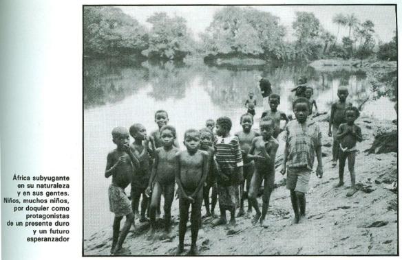 África subyugante en su naturaleza y en sus gentes