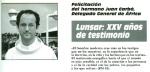 Felicitación del Hno. Juan Carbó, Delegado General de África.