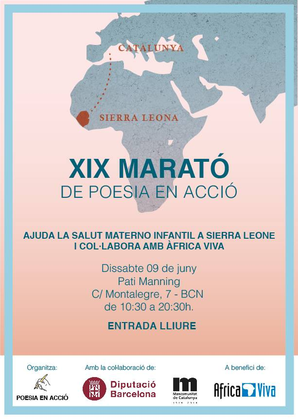 "XIX Maratón de ""Poesia en acción"
