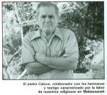 El padre Calzza, colaborador de los hermanos y testigo caracterizado por la labor de nuestros religiosos en Mabesseneh.