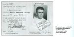 Documento de residencia del hermano Emilio García Armengol