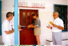 Visita de la Infanta Cristina