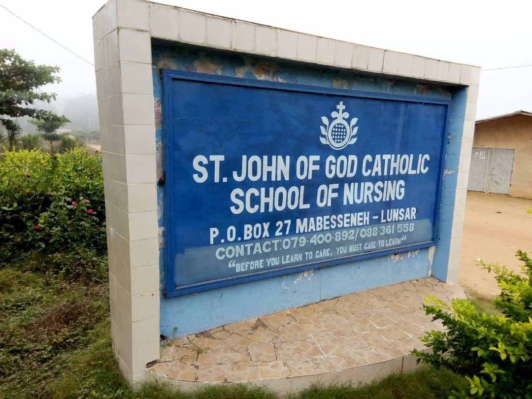 St. John of God Catholic Nursing School-Lunsar
