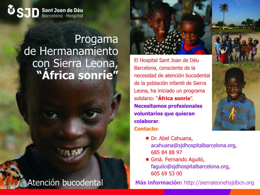 Programa de Hermanamiento con Sierra Leona: África sonríe