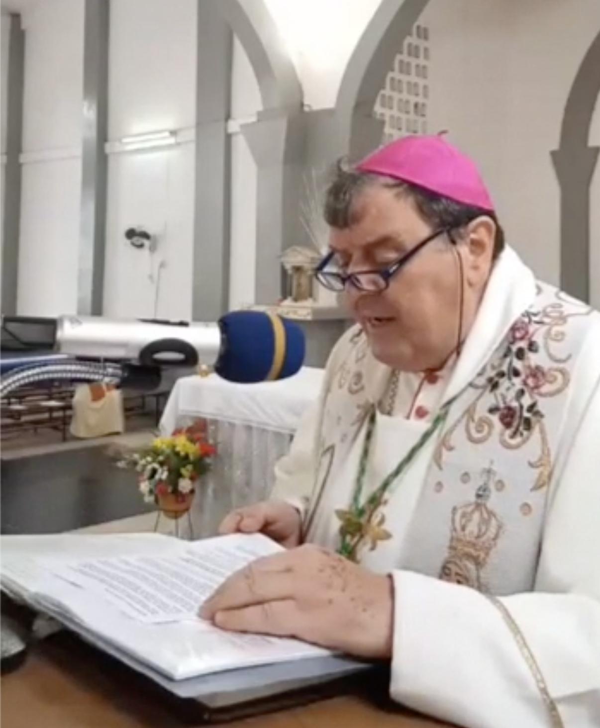 Administrador Apostólico de la Diócesis de Makeni Mns. Natale Paganelli