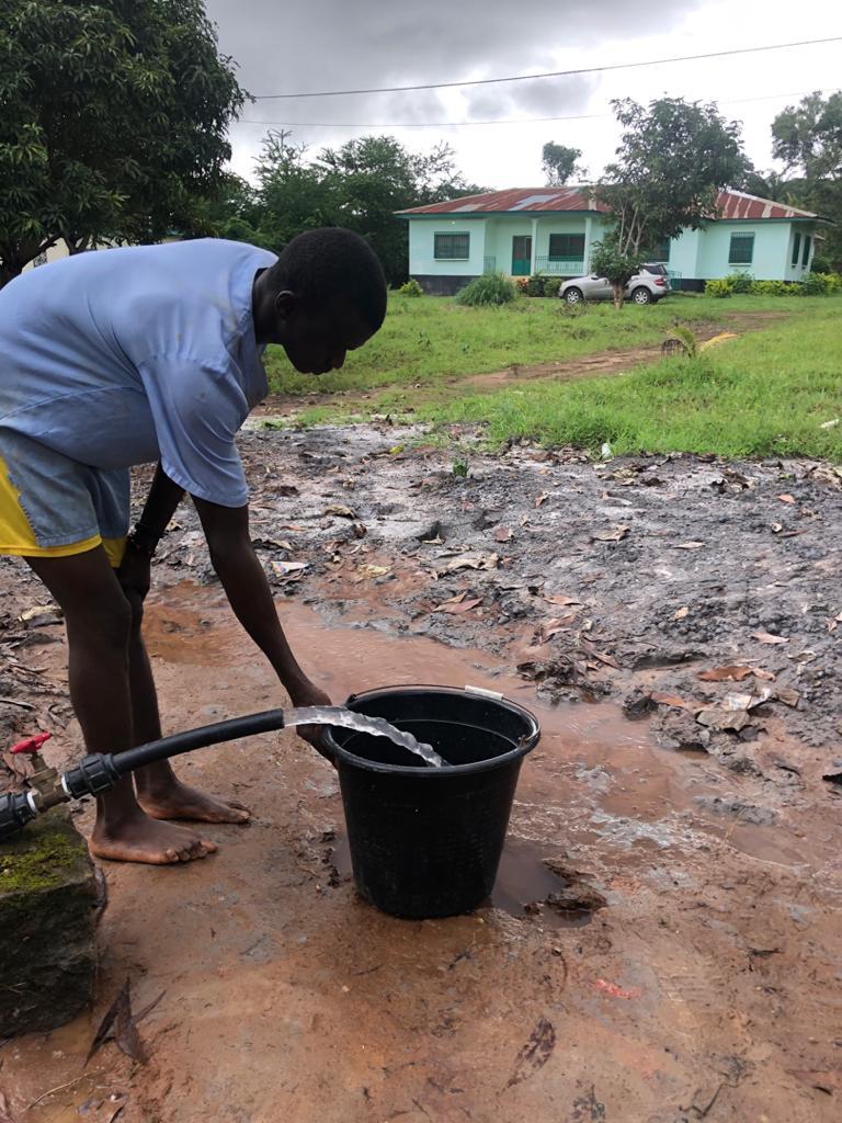 Ya tenemos agua en Lungi